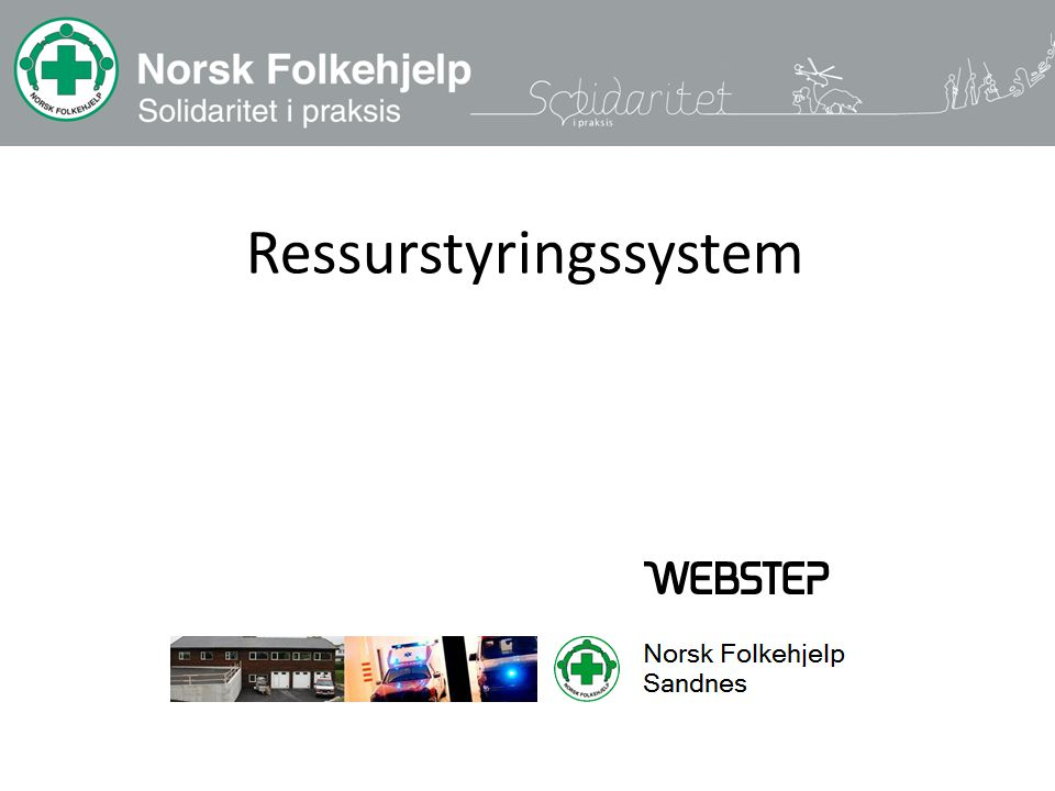 Ressurstyringssystem