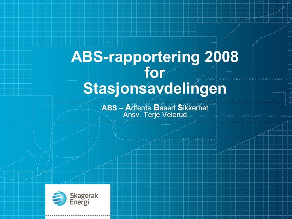 02.01.2009.TEVE.Erfaringer fra ABS i Stasjonsavdelingen i 2008 11 stk.