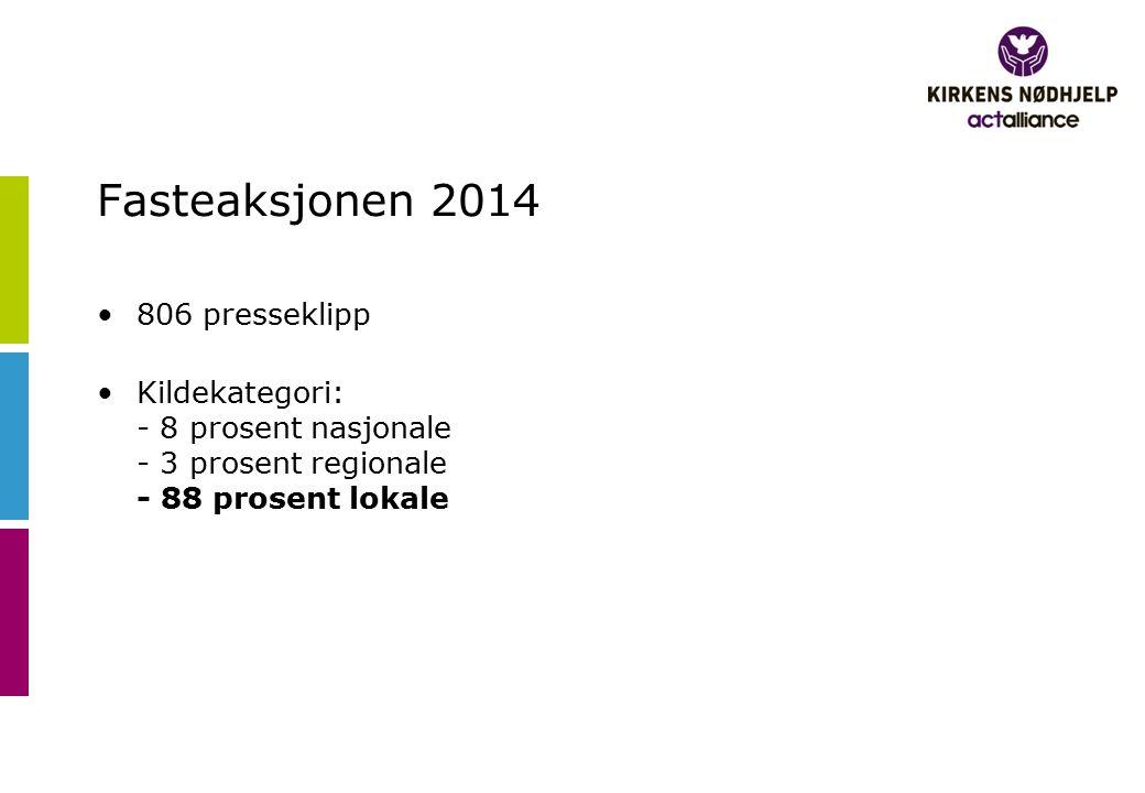 Kirkens Nødhjelp er der i katastrofen og treng deg Vest-Telemark Blad, 05.04.2014 Side 11 Publisert på trykk.