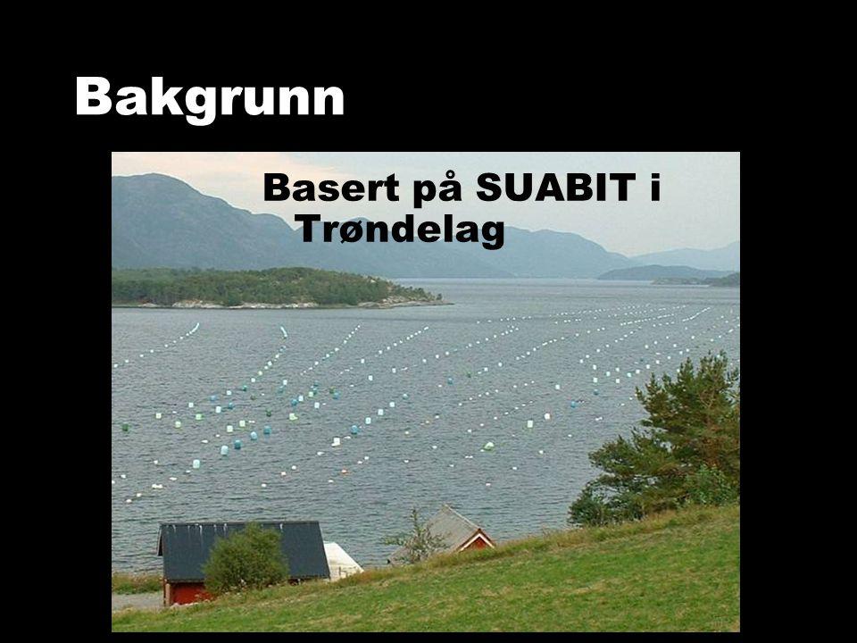 Basert på SUABIT i Trøndelag Bakgrunn