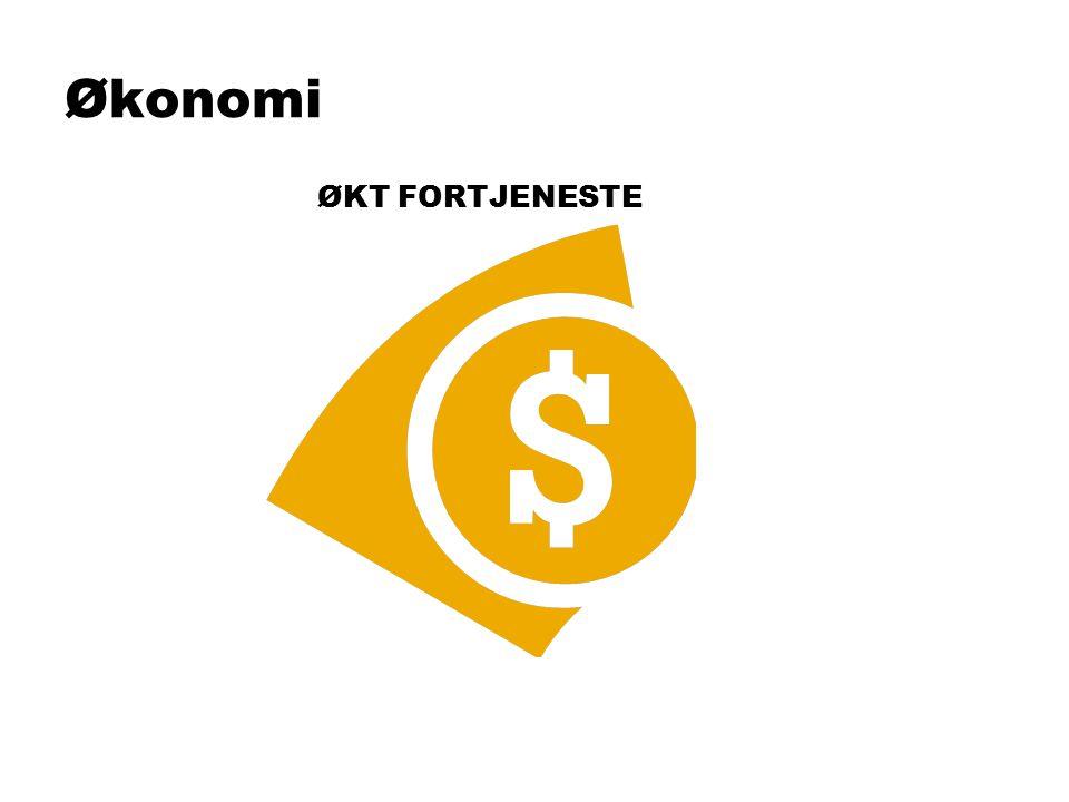 Økonomi ØKT FORTJENESTE