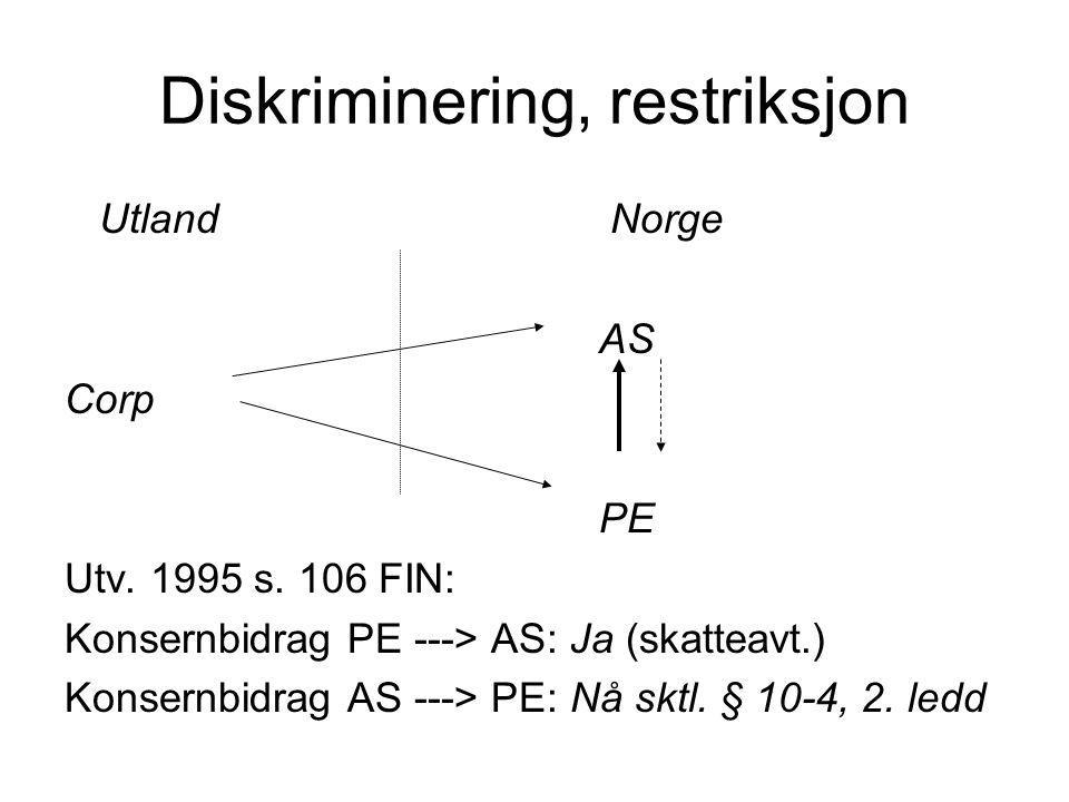 Arbeidsinntekt Arbeidstaker bosatt i et utland, arbeider i Norge Hovedregel: Skatteplikt til Norge Unntak: -Opphold i Norge mindre enn 183 dager, og -Arbeidsgiver ikke hjemmehørende i Norge, og -Arbeidsgiver ikke PE i Norge, (og) -(Ikke arbeidsutleie)