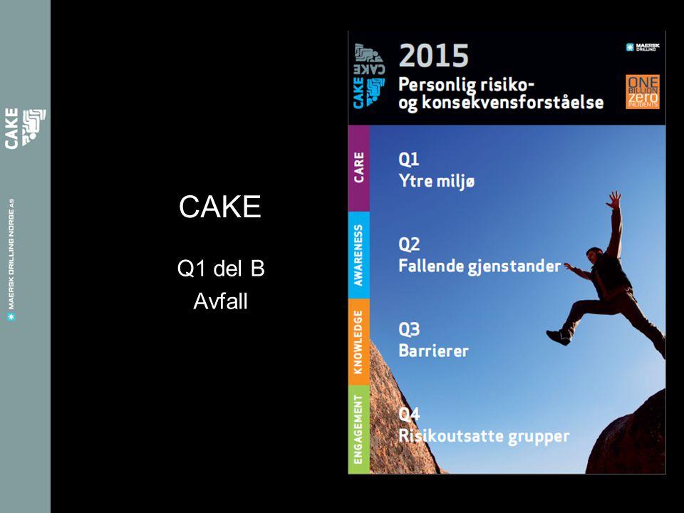 Q1 del B Avfall CAKE