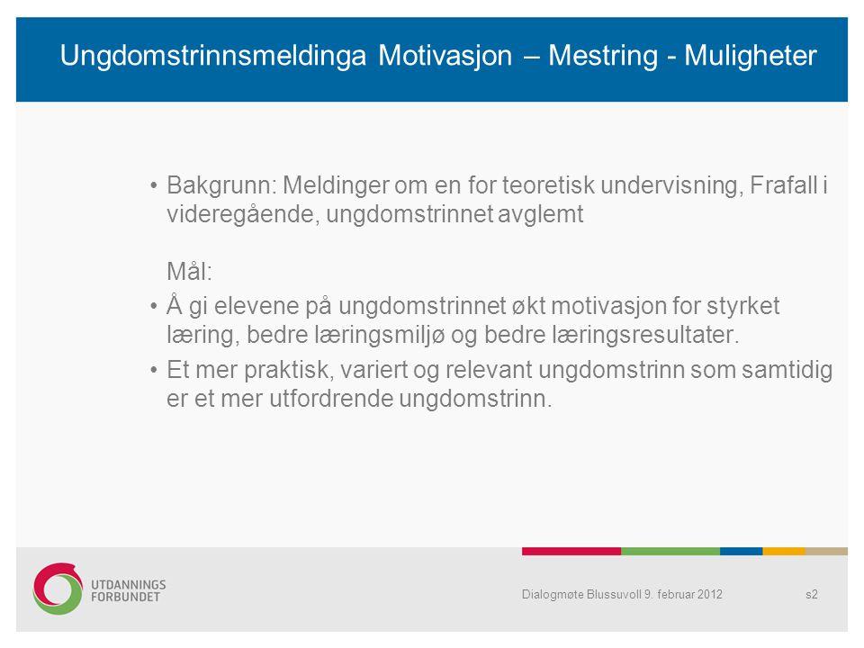 Dialogmøte Blussuvoll 9.