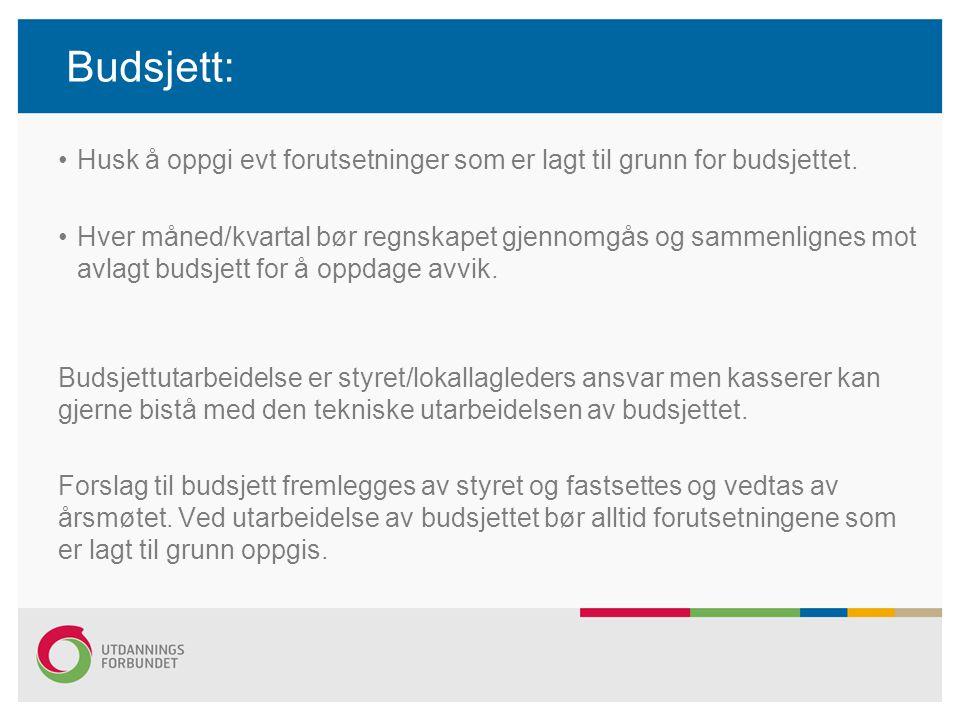Reiseregninger: Rutinen er som følger: – Skriftlig reiseregning underskrevet m att.