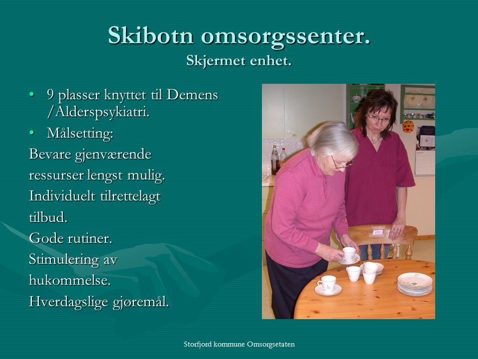 Storfjord kommune Omsorgsetaten Skibotn omsorgssenter.