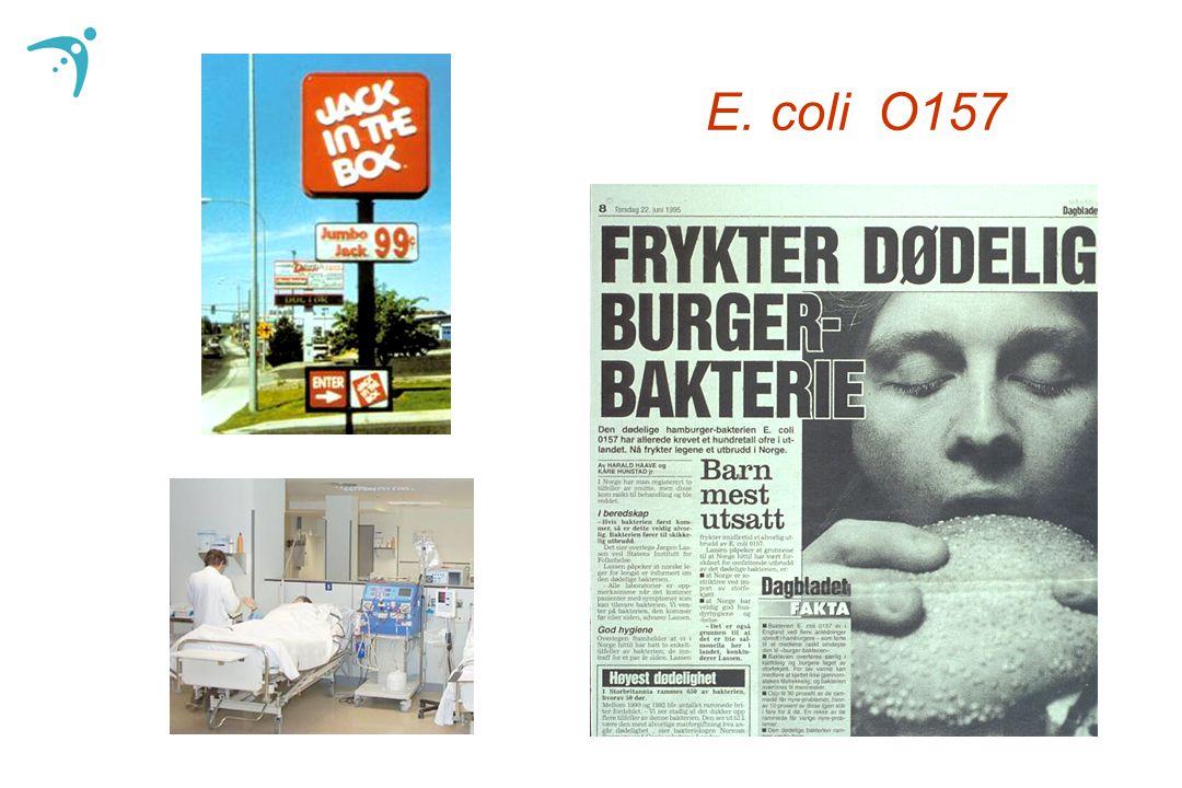 Rulleblad Hypoteser om smittekilden Har bakterien forårsaket utbrudd før.