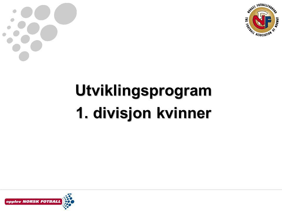 Utviklingsprogram 1. divisjon kvinner