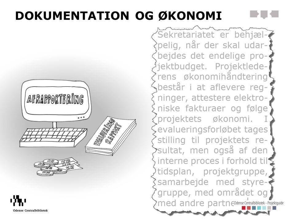 DOKUMENTATION OG ØKONOMI