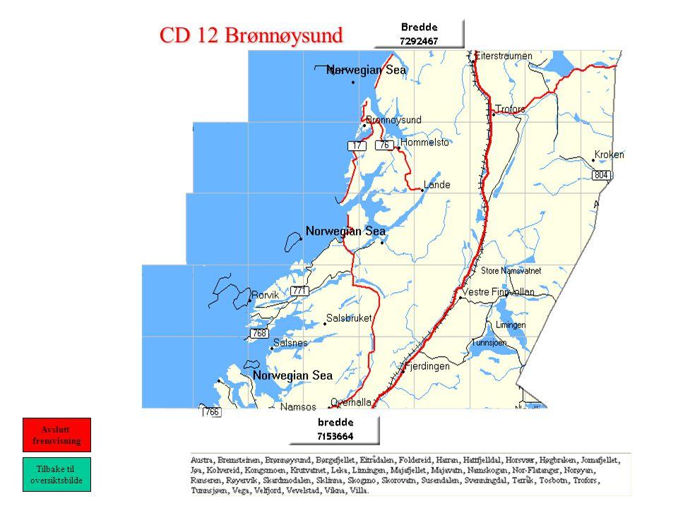 CD 12 Brønnøysund Tilbake til oversiktsbilde Avslutt fremvisning