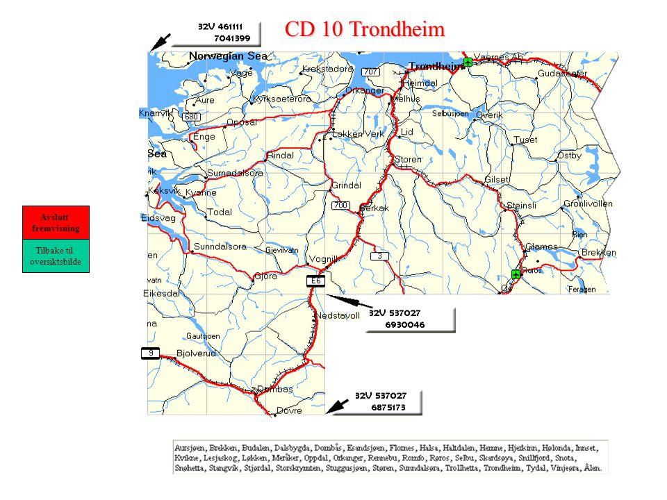 CD 10 Trondheim Tilbake til oversiktsbilde Avslutt fremvisning