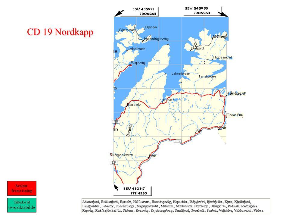 CD 19 Nordkapp Tilbake til oversiktsbilde Avslutt fremvisning