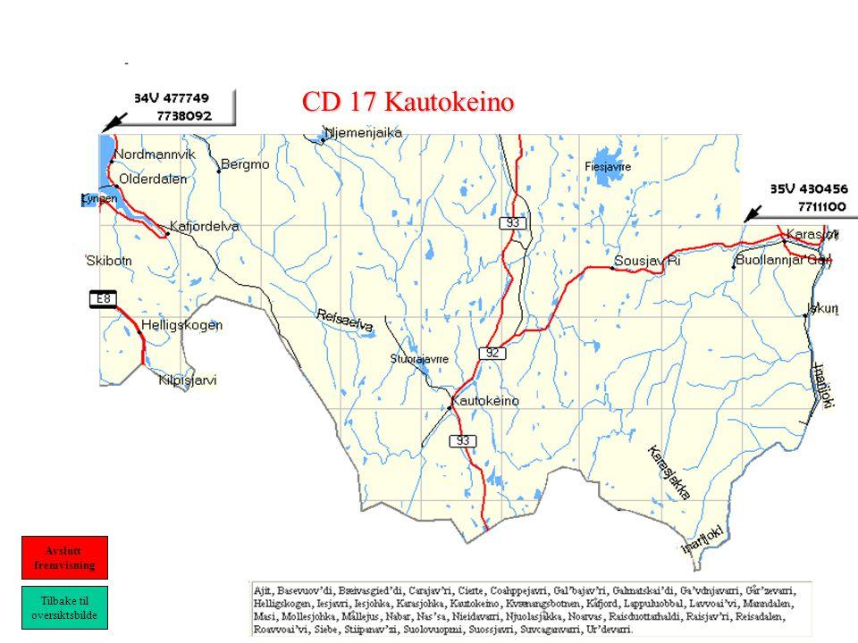 CD 17 Kautokeino Tilbake til oversiktsbilde Avslutt fremvisning