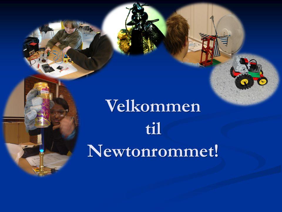 Velkommen til Newtonrommet!