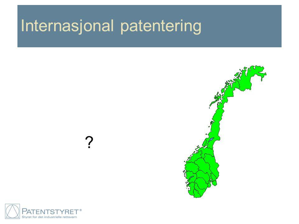Internasjonal patentering ?