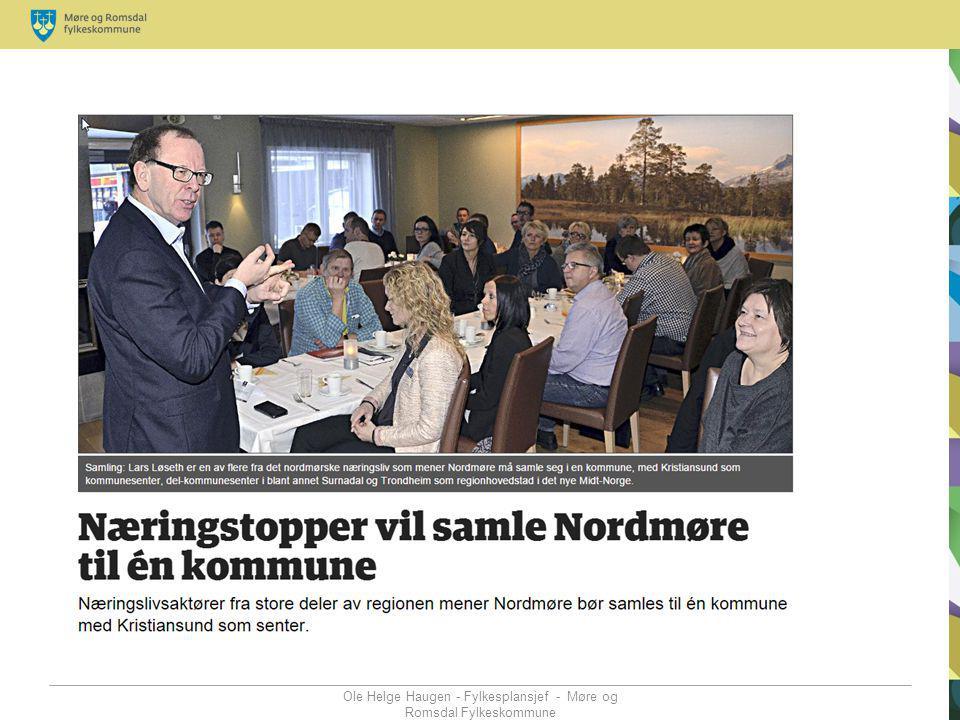 Ole Helge Haugen - Fylkesplansjef - Møre og Romsdal Fylkeskommune