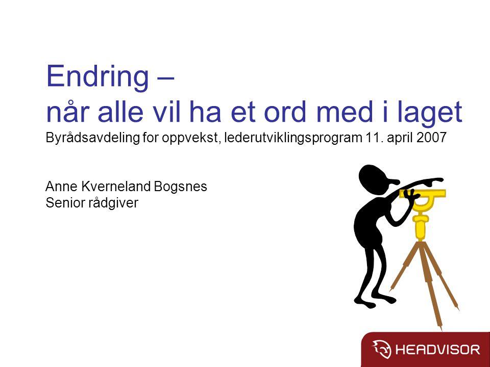 Tema Helseforetakene – utfordringsbildet Eksempel: et helseforetak i endring Teamarbeid som virkemiddel Fokus på ledelse