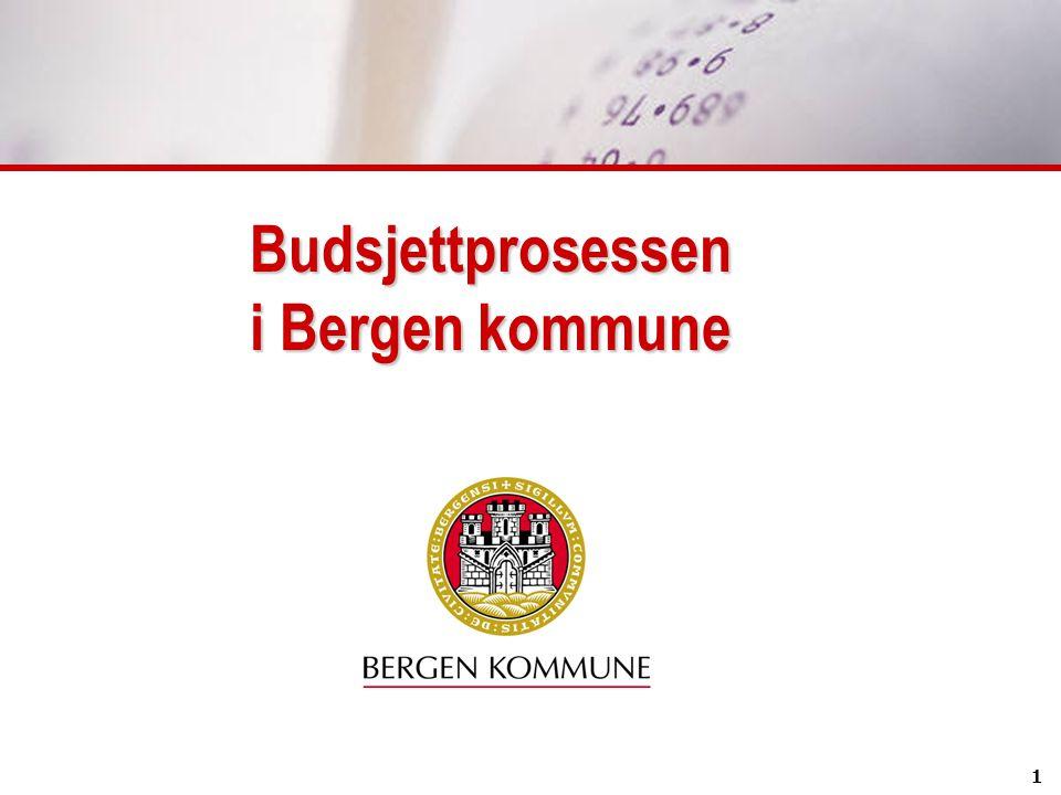 1 Budsjettprosessen i Bergen kommune