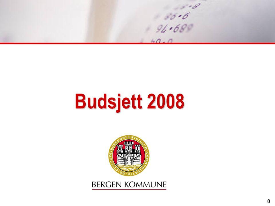 8 Budsjett 2008
