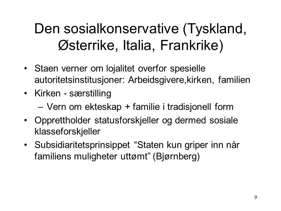 20 Velferdsstaten Norge Generelle samfunnstrekk, kort innblikk – Industrialisering, full sysselsetting, vekst, stabilitet - slagord AP samlet velgere på utover 1950-tallet.