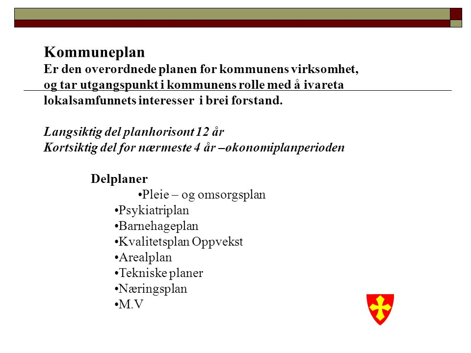 Kallet Profesjon Bruker Eldrerådet Råd for funksjonshemmede FUO Ungdomsrådet Hvordan møte innbyggerne i kommunen