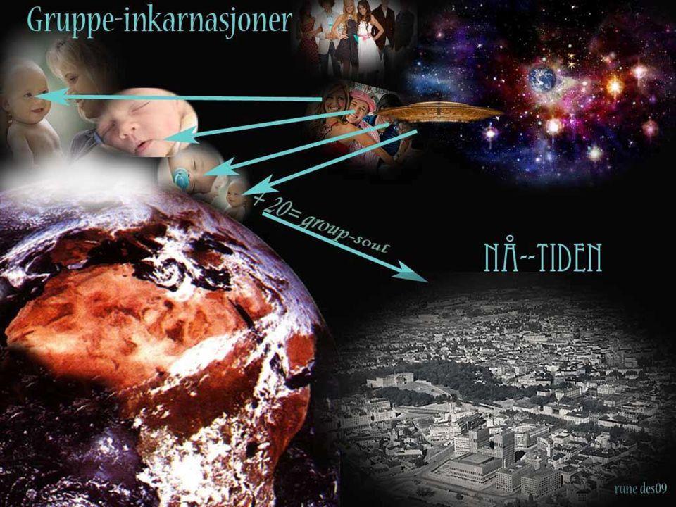 ….hatt noen liv før på JORDEN….. De som sendes hit blir forberedt at Jorden er en tøff skole