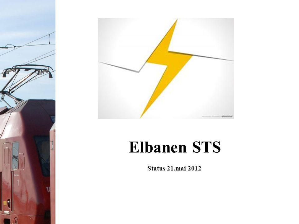 Elbanen STS Status 21.mai 2012
