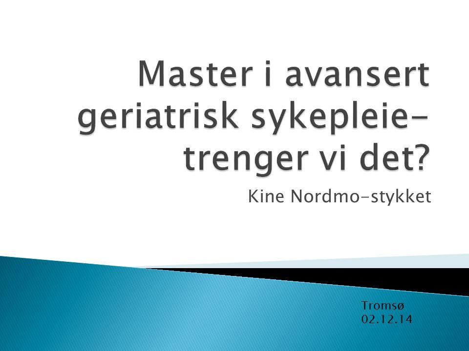 Kine Nordmo-stykket Tromsø 02.12.14