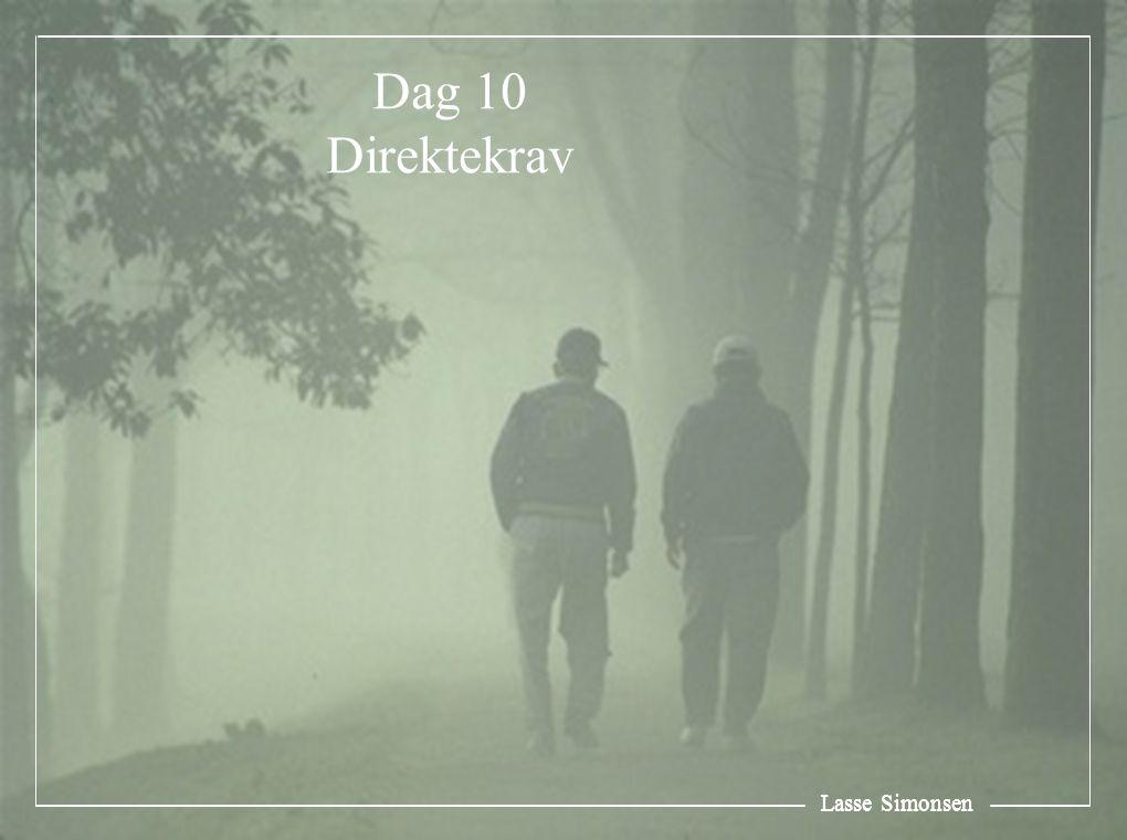 Lasse Simonsen Dag 10 Direktekrav Lasse Simonsen