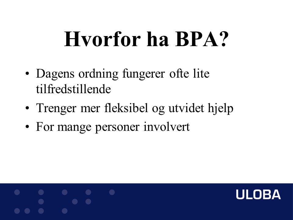 Hvorfor ha BPA.