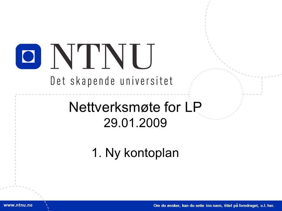 33 Nettverksmøte for LP 29.01.2009 1.