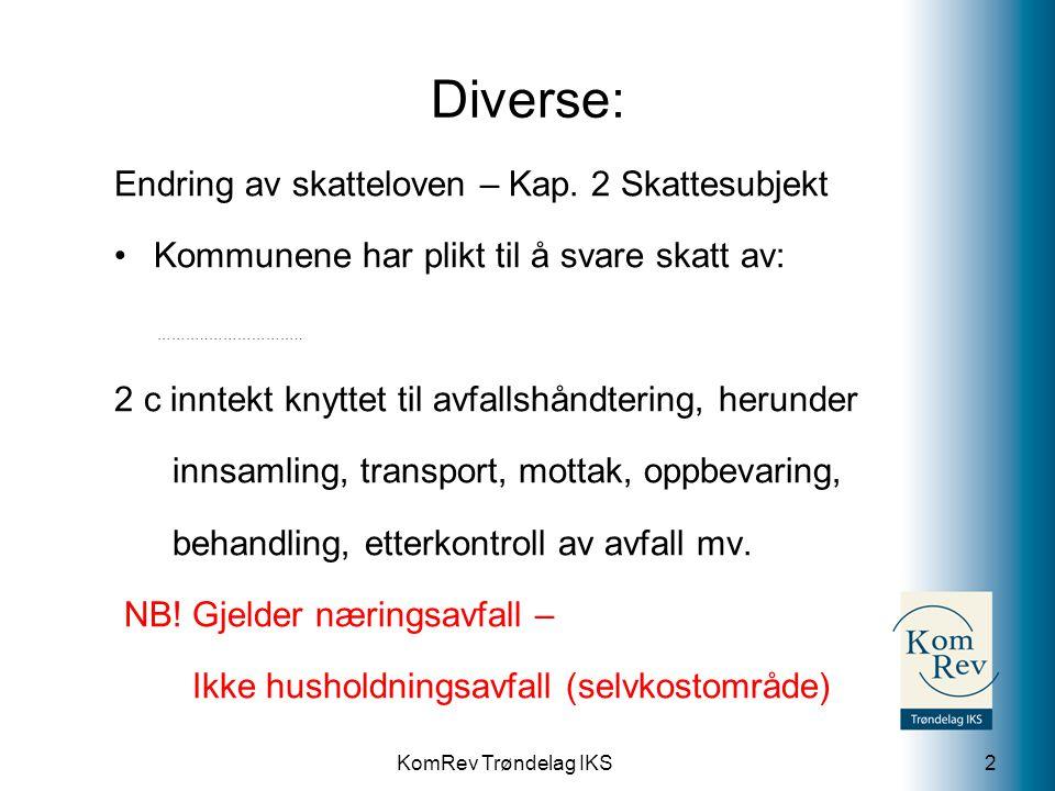 KomRev Trøndelag IKS 3