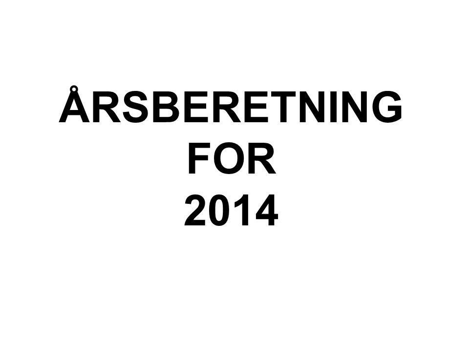 ÅRSBERETNING FOR 2014