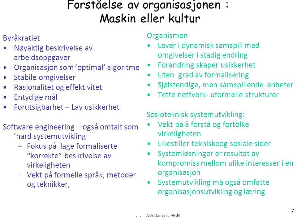 ,. Arild Jansen.