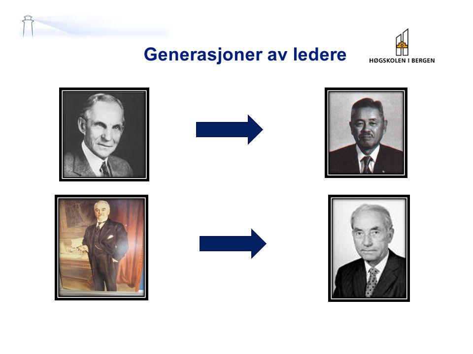 Generasjoner av ledere