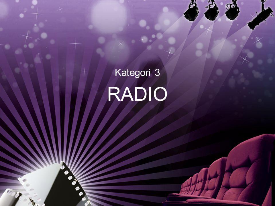 Kategori 3 RADIO