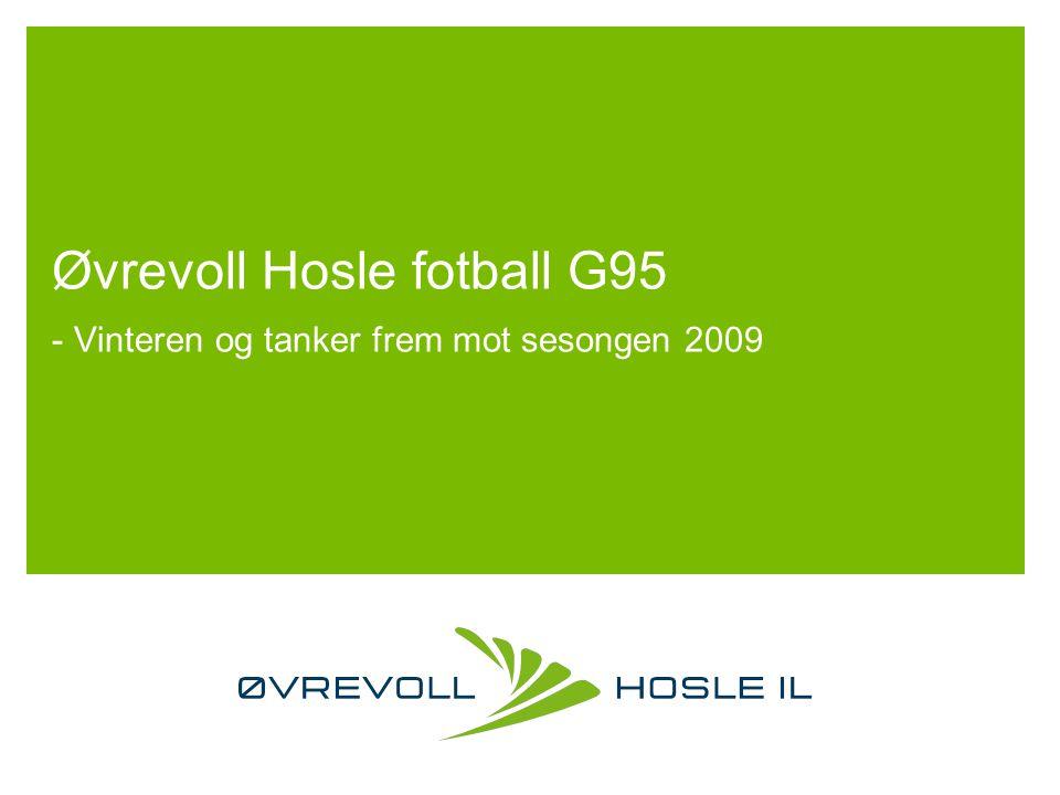 Oppsummering av sesongen 2008 Øvrevoll Hosle G95: Fem lag i serien.