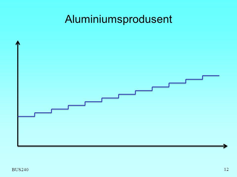 BUS240 Aluminiumsprodusent 12