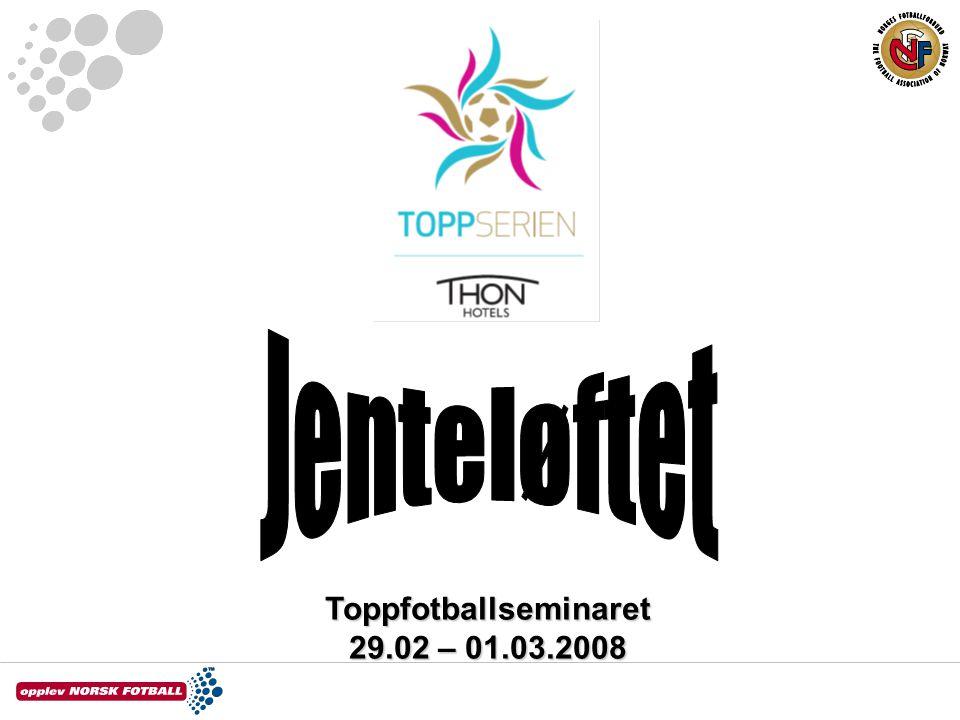 Toppfotballseminaret 29.02 – 01.03.2008
