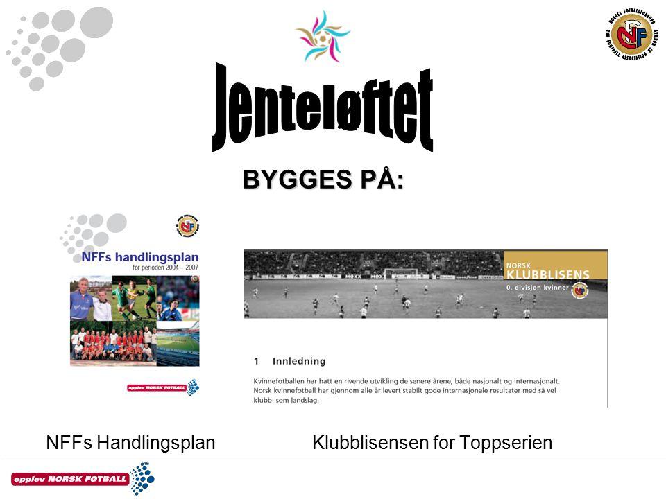 BYGGES PÅ: NFFs HandlingsplanKlubblisensen for Toppserien