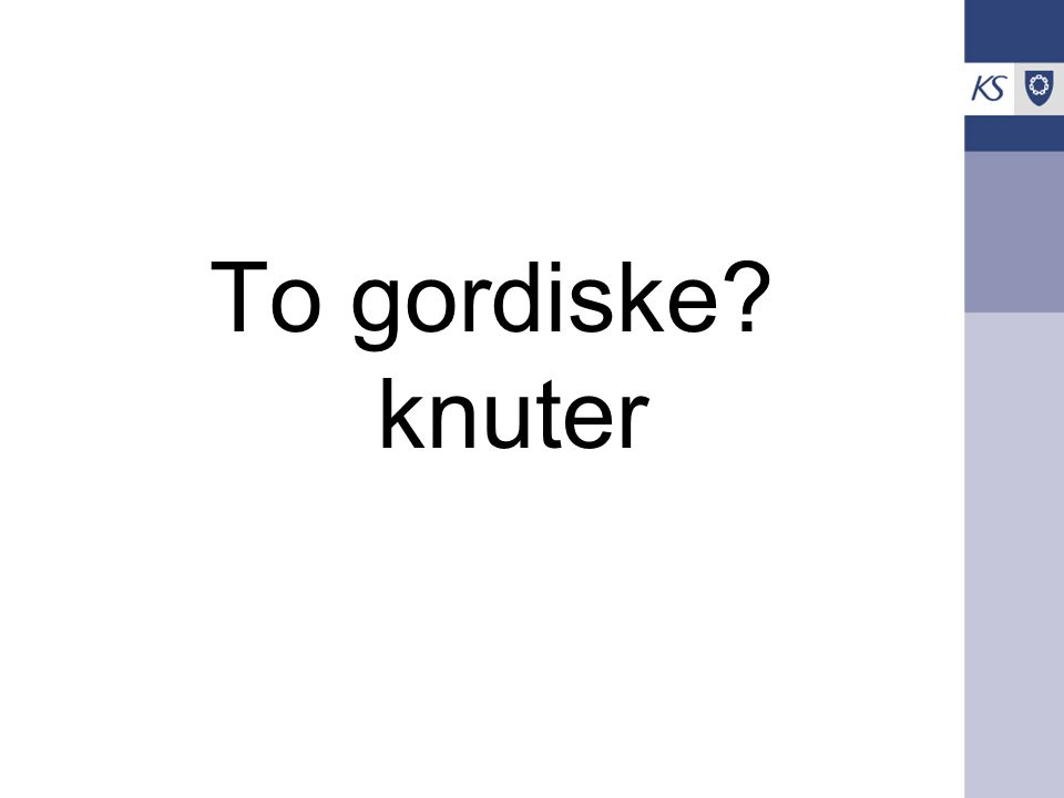 To gordiske knuter