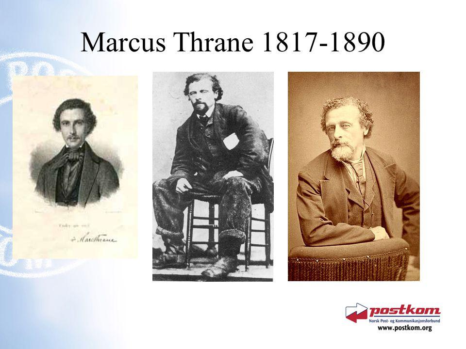 Marcus Thrane 1817-1890