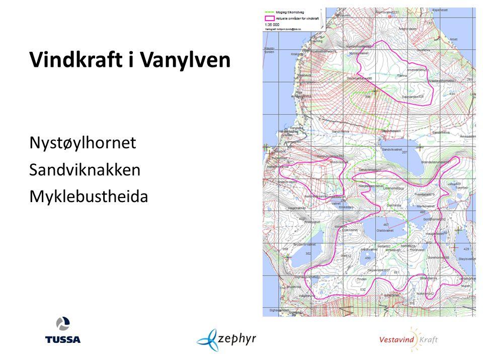 Nystøylhornet Sandviknakken Myklebustheida