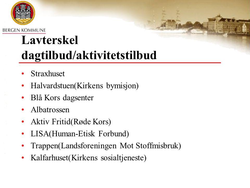 Legemiddelassistert rehabilitering(LAR) Ca 350 pasienter i Bergen Spesialisttjenesten har myndighet vedr.