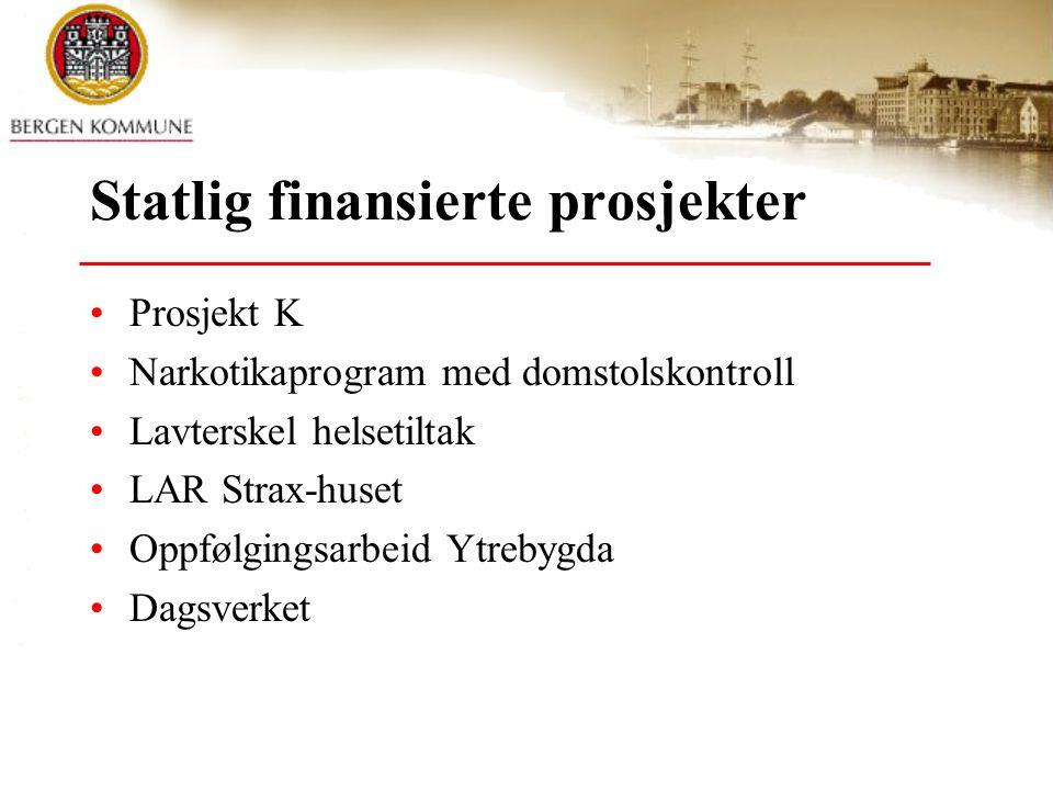Ressursbruk rusfeltet Rusmisbruk i Norge er beregnet til å påføre kostnader på 18 milliarder årlig.