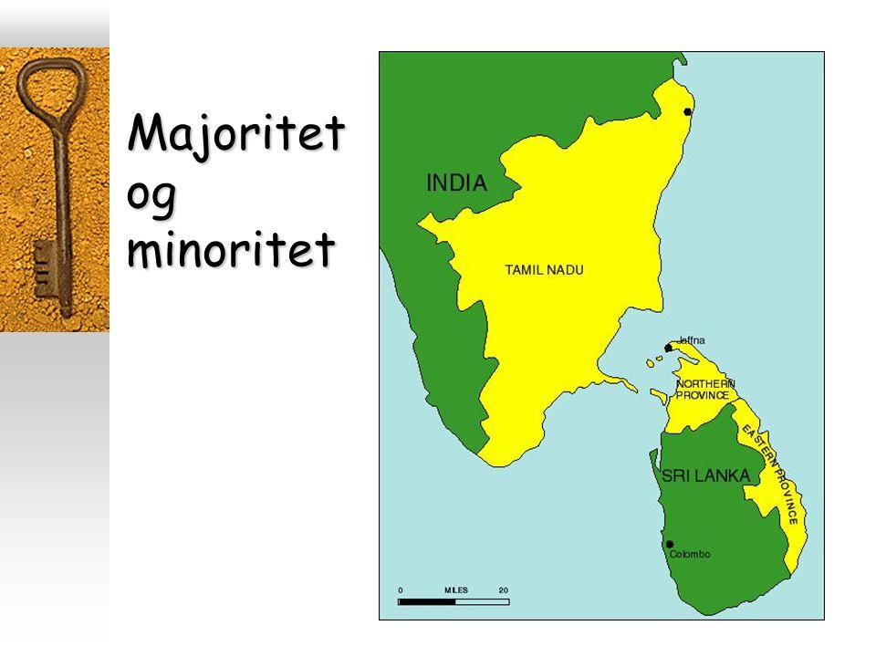 Majoritet og minoritet