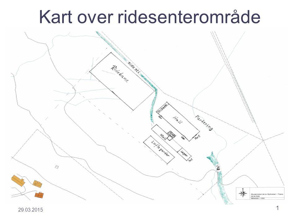 29.03.2015 1 Kart over ridesenterområde