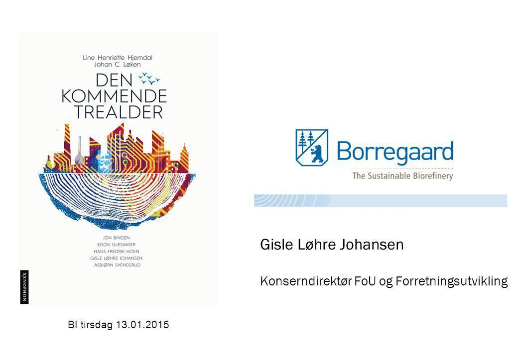Gisle Løhre Johansen Konserndirektør FoU og Forretningsutvikling BI tirsdag 13.01.2015