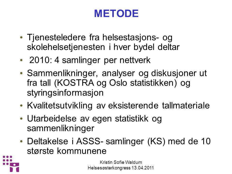 Kristin Sofie Waldum Helsesøsterkongress 13.04.2011 3.
