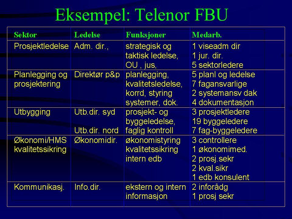 Eksempel: Telenor FBU